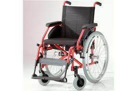 Rim-propelled wheelchair